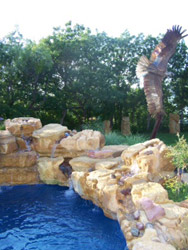 Stone, Fire and Water Features | Waterfalls | Fireplaces | Outdoor Kitchens